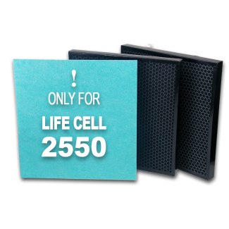 Carbon Carbon Filter Kit - Life Cell 2550