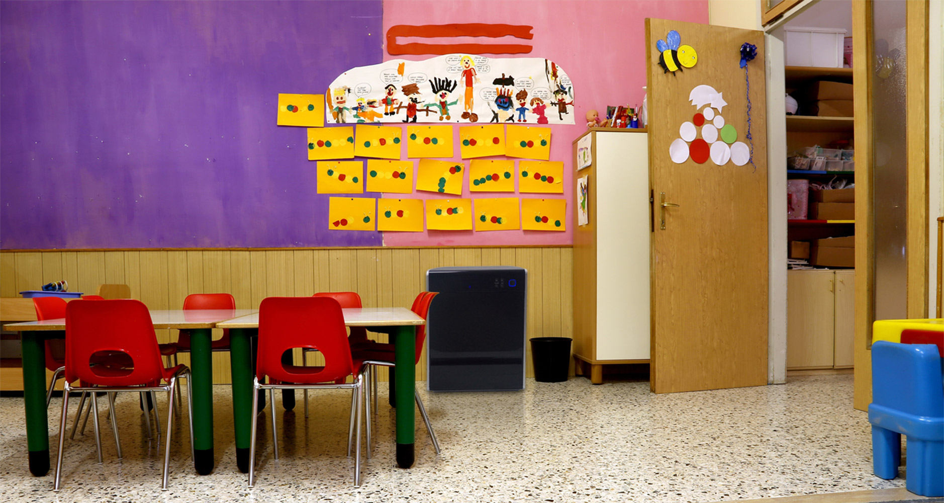 LIFE CELL 2500 in a daycare